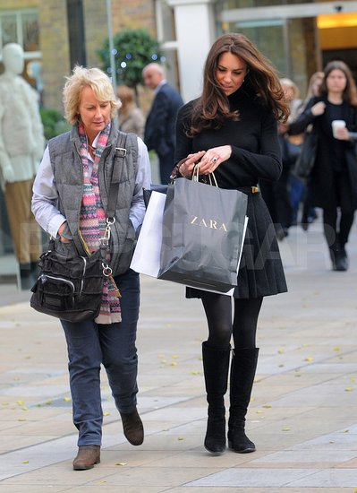 Kate Middleton Shopping at Zara